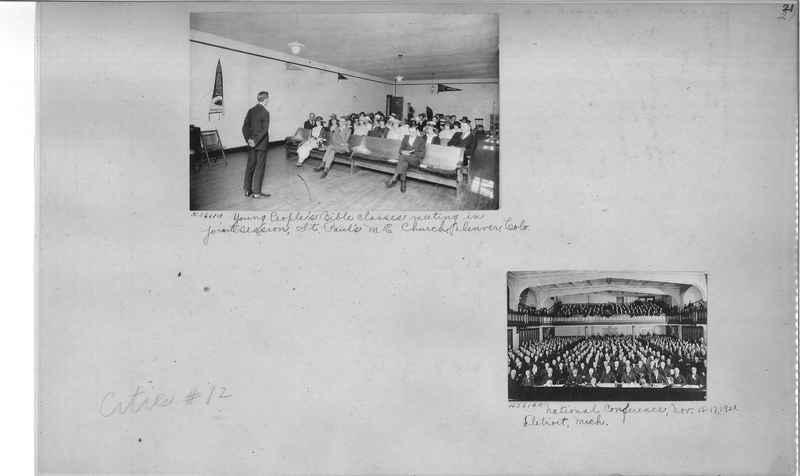 Mission Photograph Album - Cities #12 page 0021