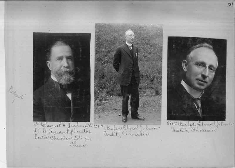 Mission Photograph Album - Portraits #1 page 0131