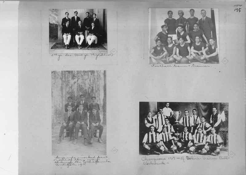 Mission Photograph Album - South America O.P. #1 page 0175