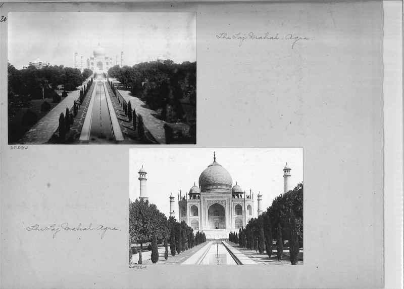 Mission Photograph Album - India #08 Page 0120