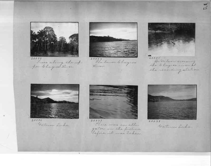 Mission Photograph Album - Panama #1 page  0065