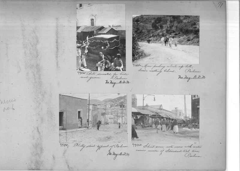 Mission Photograph Album - Mexico #06 page 0071