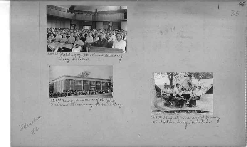 Mission Photograph Album - Education #2 page 0025