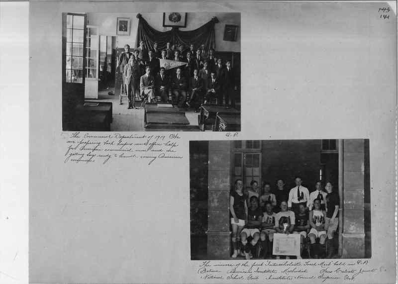 Mission Photograph Album - South America O.P. #1 page 0141