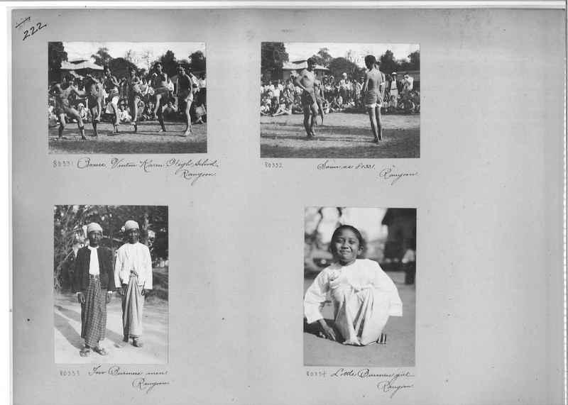Mission Photograph Album - Burma #1 page 0222