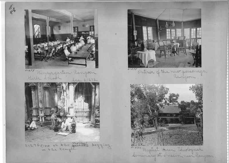 Mission Photograph Album - Burma #1 page 0048