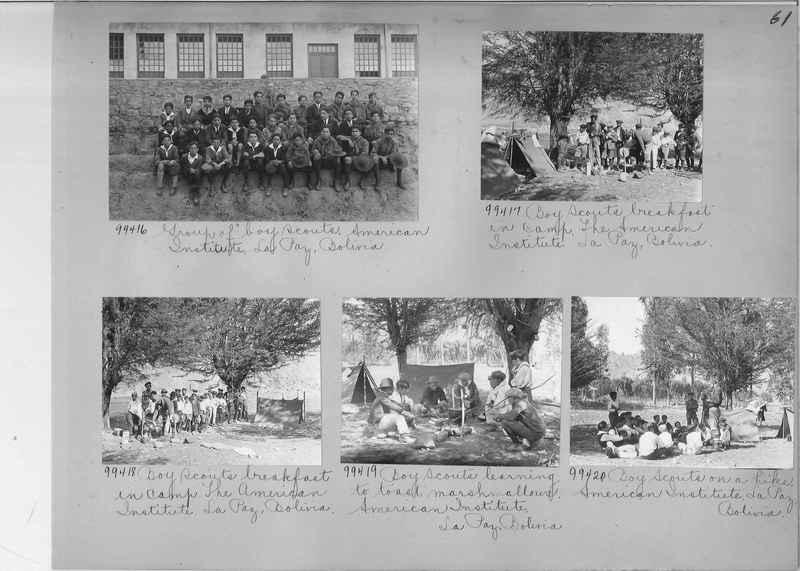 Misson Photograph Album - South America #8 page 0061