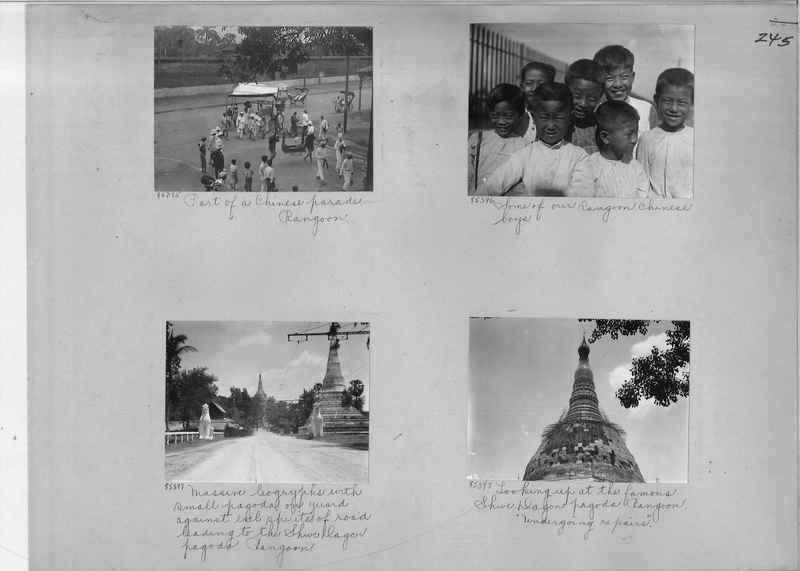 Mission Photograph Album - Burma #1 page 0245