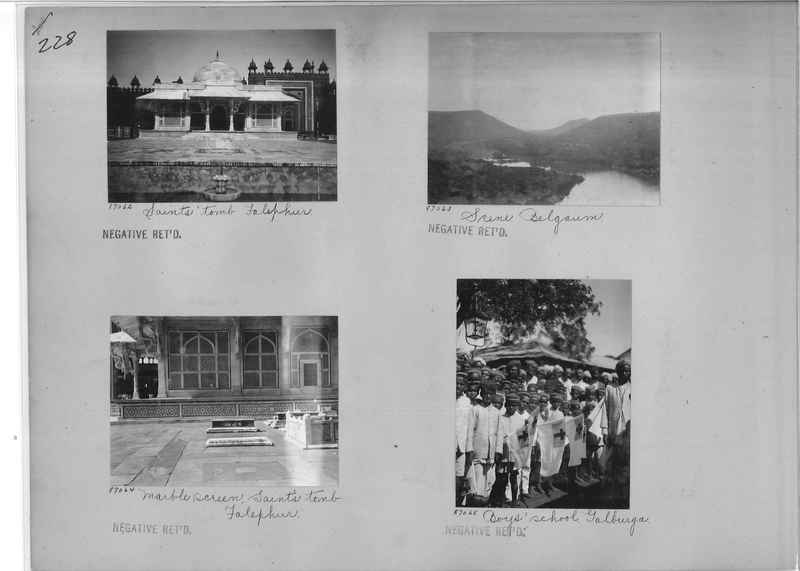 Mission Photograph Album - India #09 Page 0228