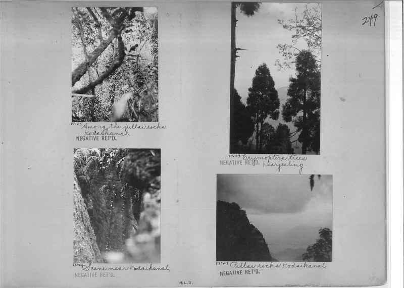 Mission Photograph Album - India #09 Page 0249