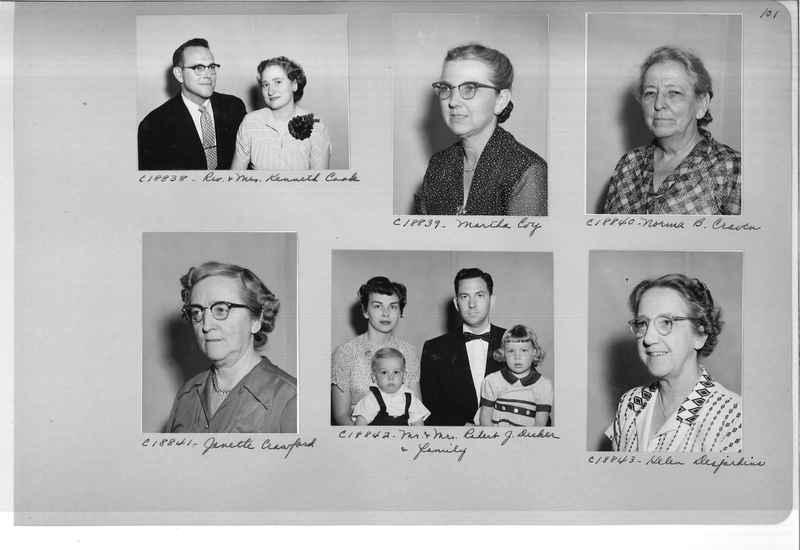Mission Photograph Album - Portraits #08 Page 0101