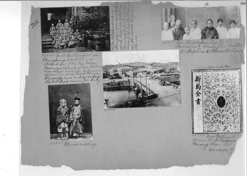 Mission Photograph Album - China #7 page 0202
