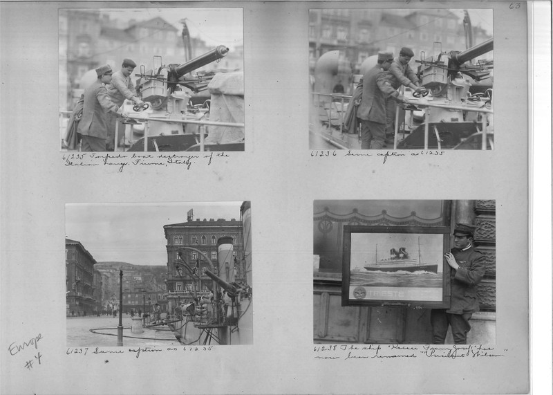 Mission Photograph Album - Europe #04 Page 0063