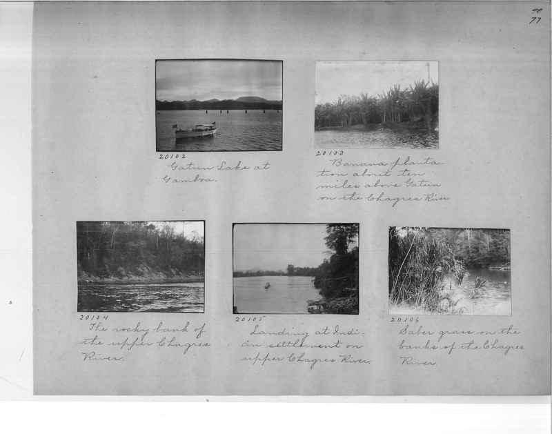 Mission Photograph Album - Panama #1 page  0077