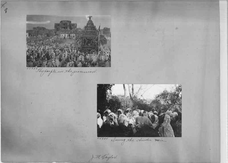 Mission Photograph Album - India #08 Page 0008