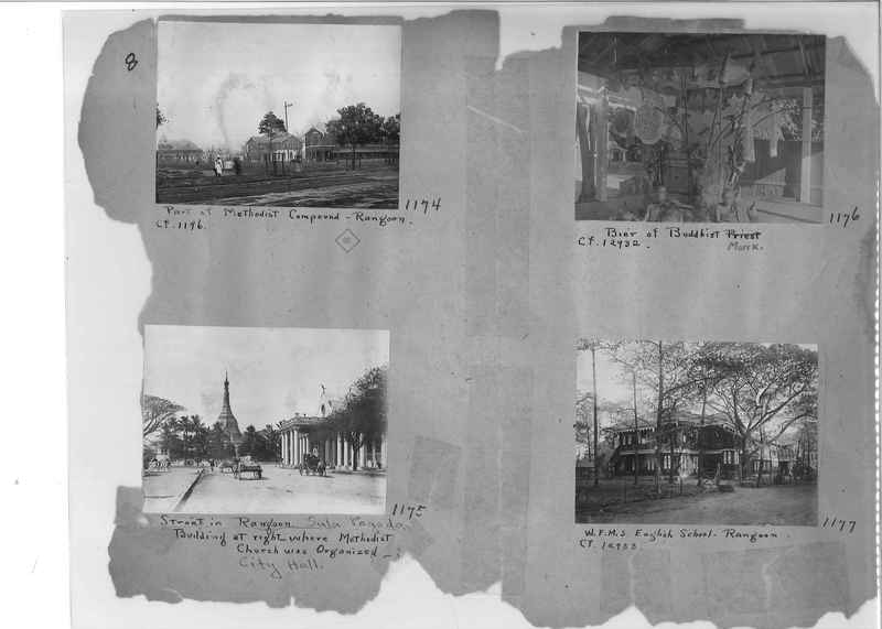 Mission Photograph Album - Burma #1 page 0008
