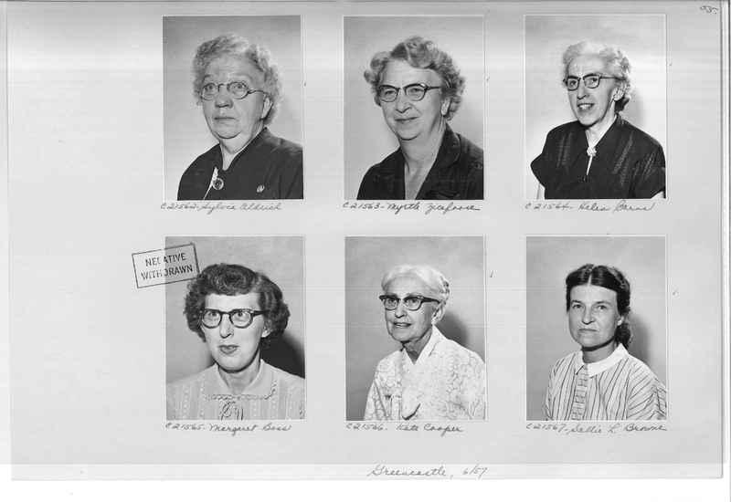 Mission Photograph Album - Portraits #10 Page 0055