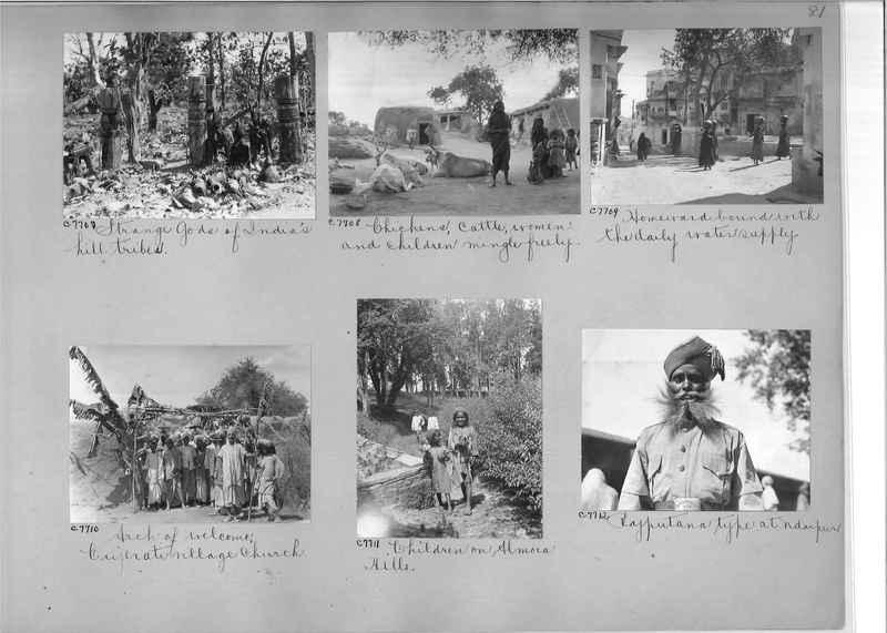 Mission Photograph Album - India #13 Page 0081