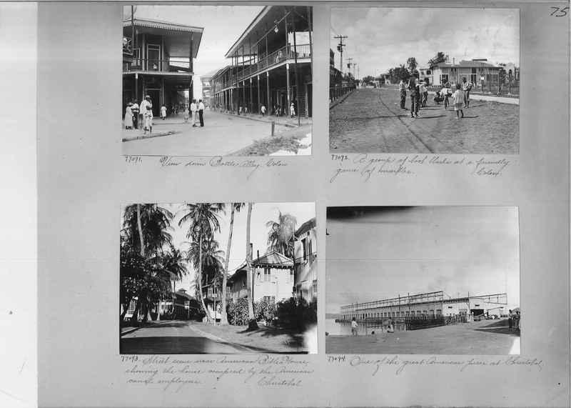 Mission Photograph Album - Panama #03 page 0075