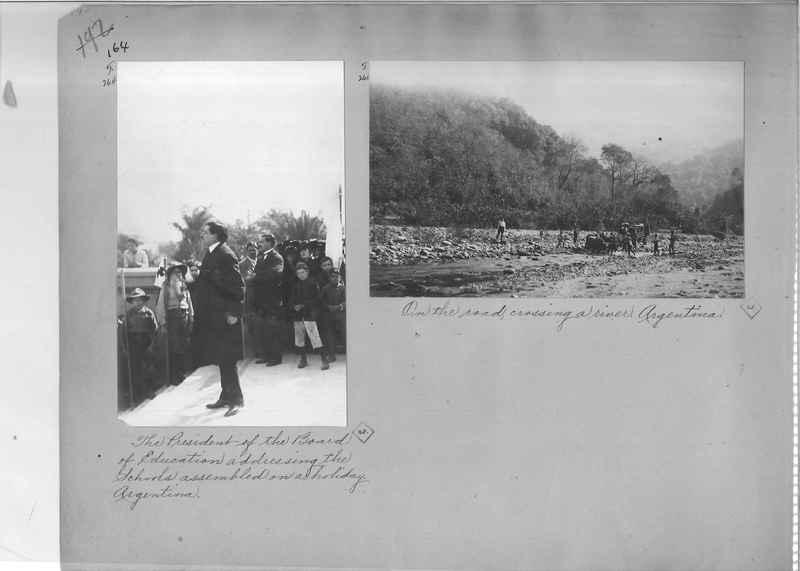 Mission Photograph Album - South America O.P. #2 page 0164