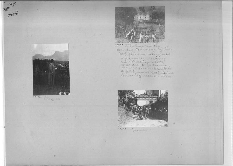 Mission Photograph Album - Europe #01 Page 0104