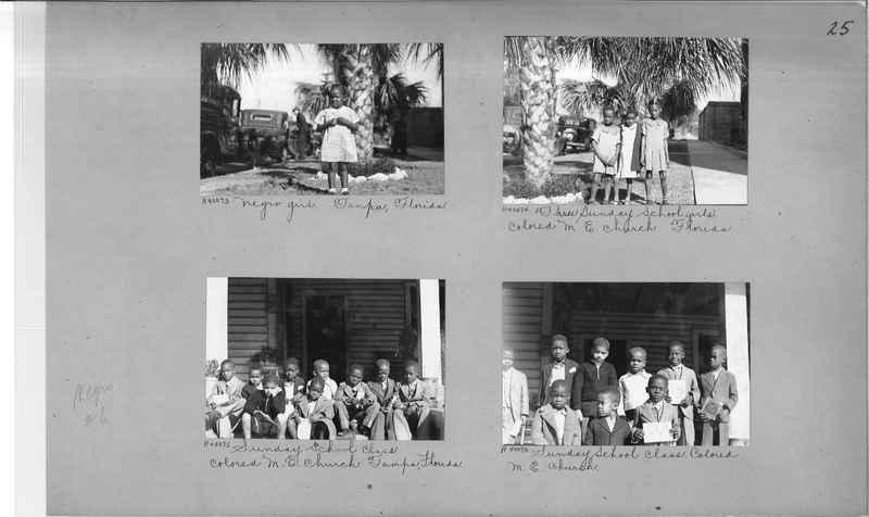 Mission Photograph Album - Negro #6 page 0025