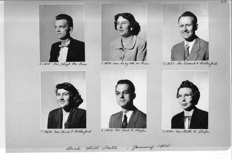 Mission Photograph Album - Portraits #08 Page 0083