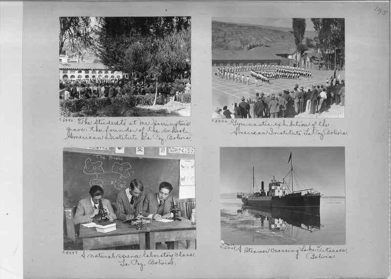 Misson Photograph Album - South America #8 page 0145