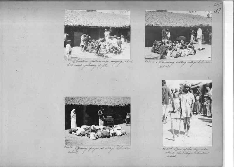 Mission Photograph Album - India #09 Page 0157