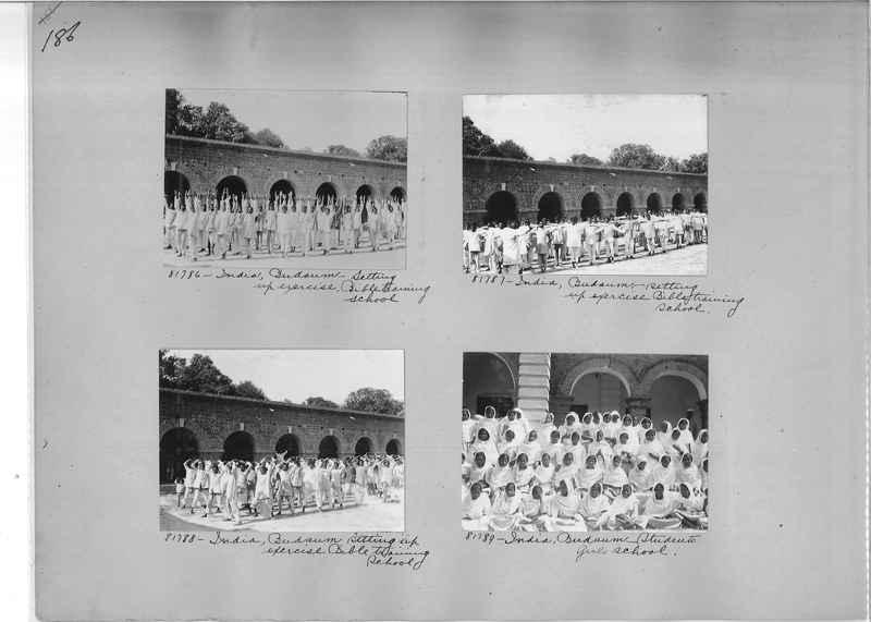 Mission Photograph Album - India #09 Page 0186