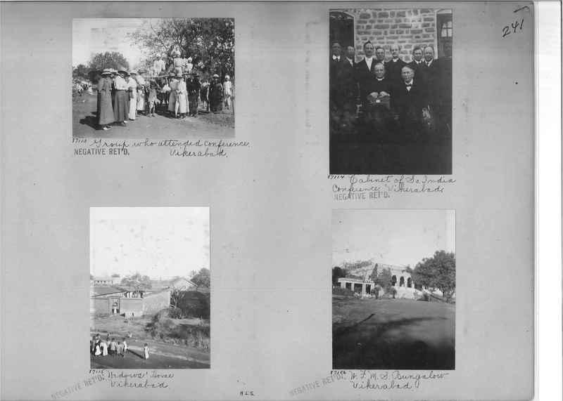 Mission Photograph Album - India #09 Page 0241
