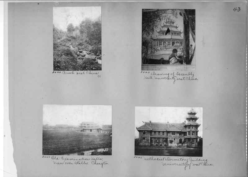 Mission Photograph Album - China #2 page  0043