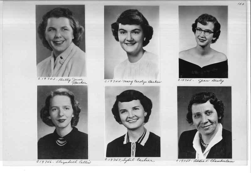 Mission Photograph Album - Portraits #08 Page 0153