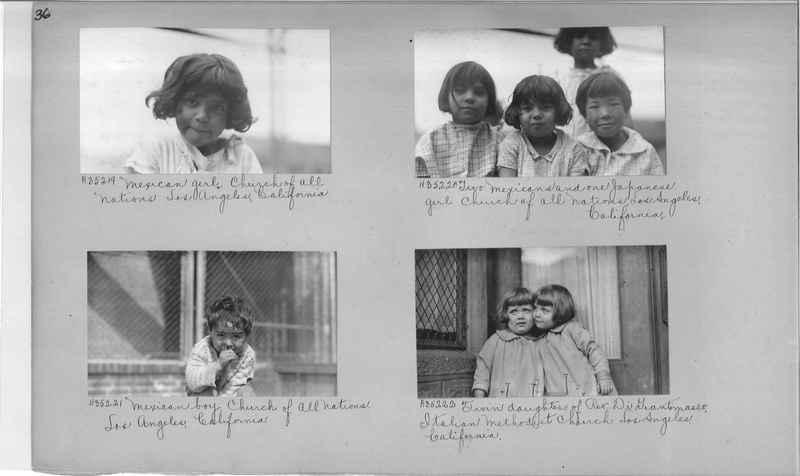 Mission Photograph Album - Cities #16 page 0036