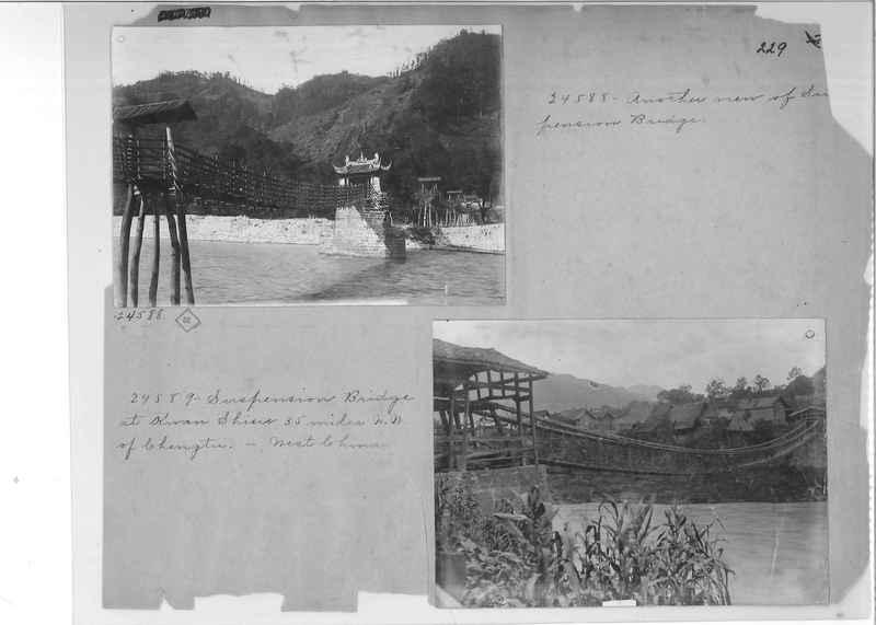 Mission Photograph Album - China #2 page  0229