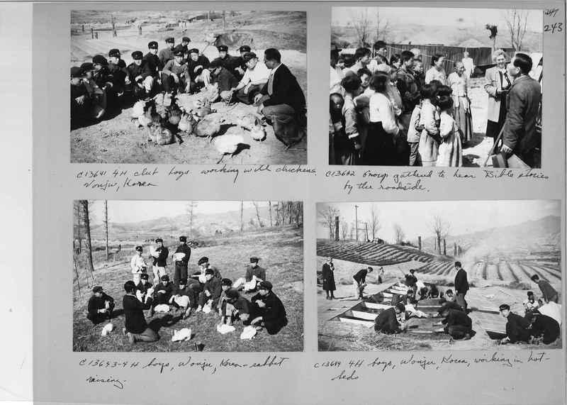 Mission Photograph Album - Korea #5 page 0243