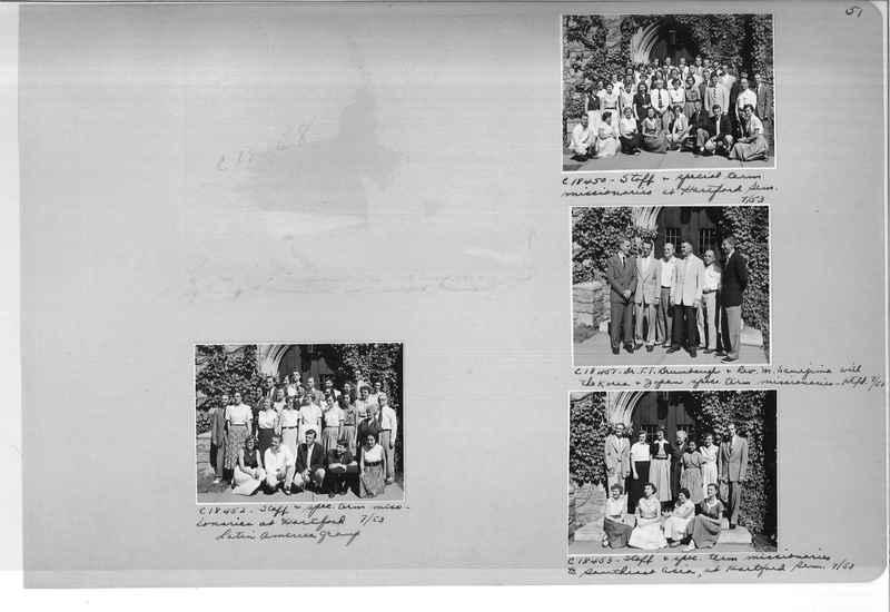 Mission Photograph Album - Portraits #08 Page 0051