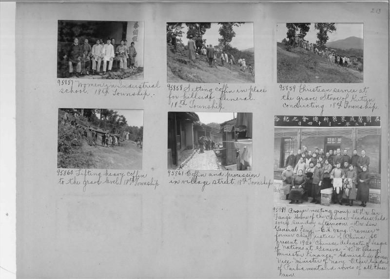 Mission Photograph Album - China #14 page 0213