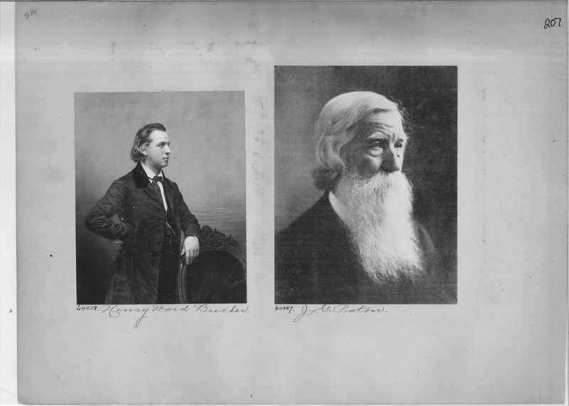 Mission Photograph Album - Portraits #2 page 0207