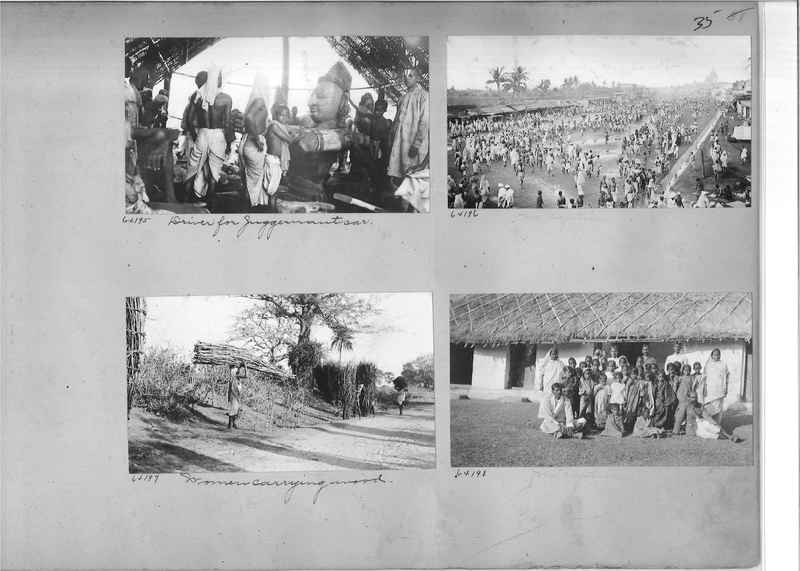 Mission Photograph Album - India #08 Page 0035
