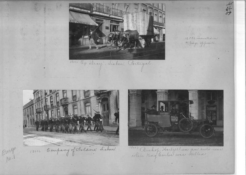Mission Photograph Album - Europe #01 Page 0059