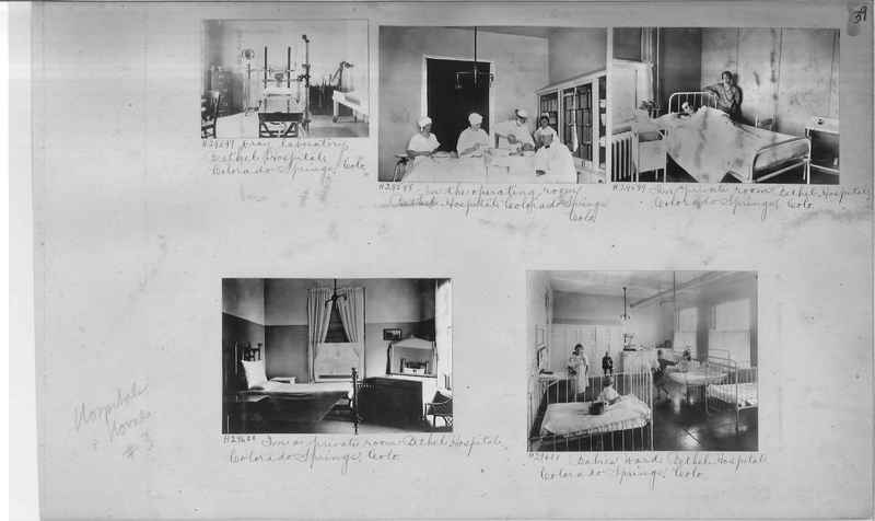 Mission Photograph Album - Hospitals and Homes #3 page 0039