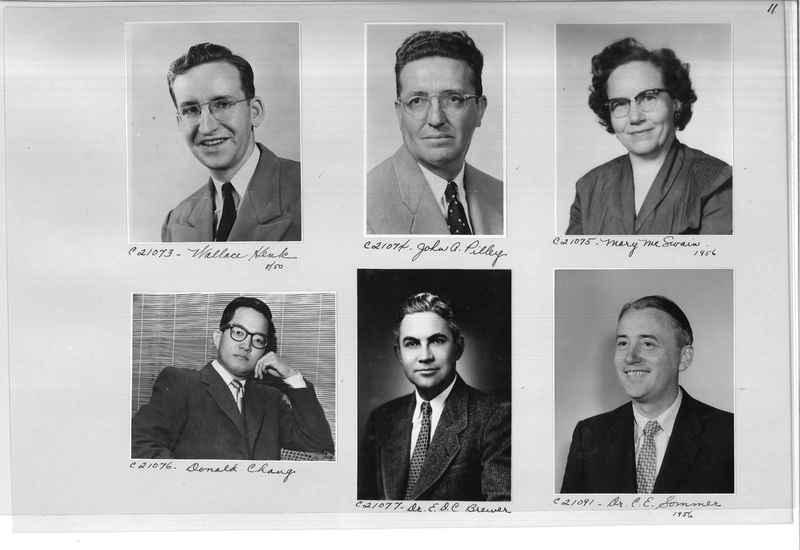 Mission Photograph Album - Portraits #10 Page 0011