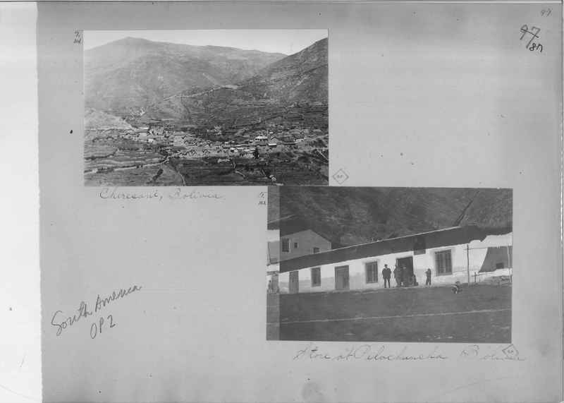 Mission Photograph Album - South America O.P. #2 page 0087