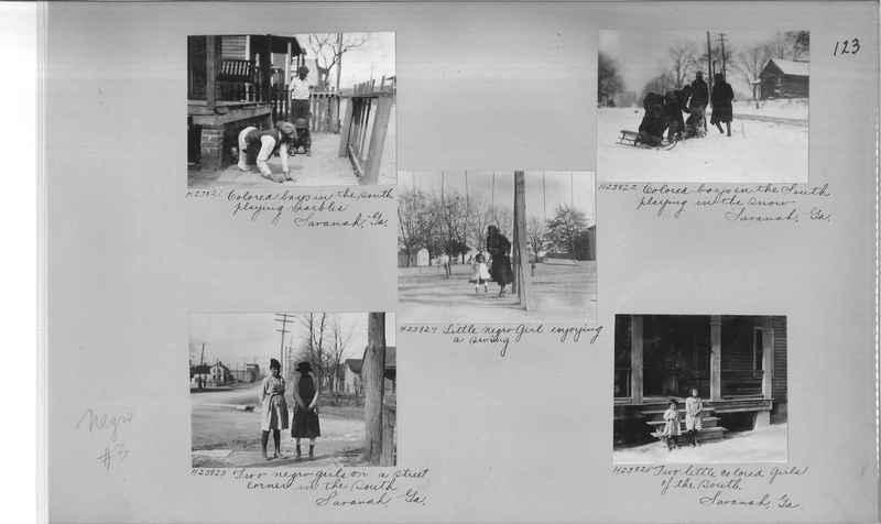Mission Photograph Album - Negro #3 page 0123