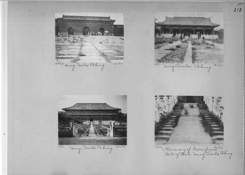 Mission Photograph Album - China #2 page  0213