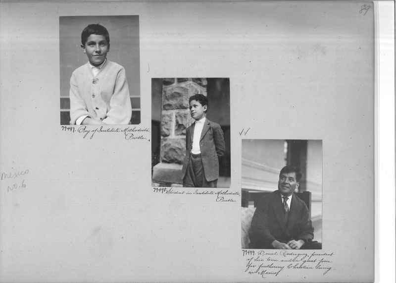 Mission Photograph Album - Mexico #06 page 0089