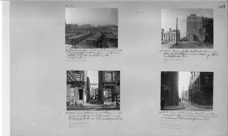 Mission Photograph Album - Cities #4 page 0149