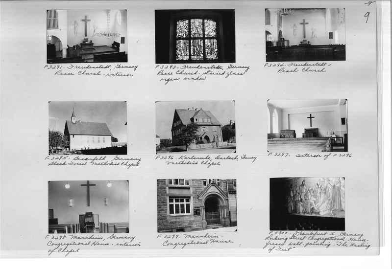 Mission Photograph Album - Europe #10 Page 0009