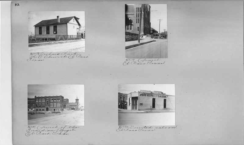 Mission Photograph Album - Cities #9 page 0082